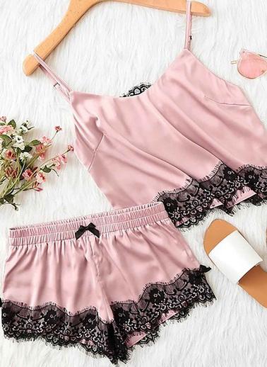 Merry See Pijama Takım Pembe